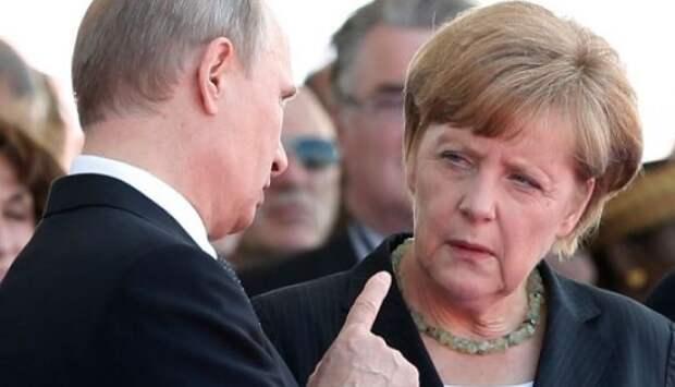 Владимир Путин обсудил с Меркель хамство Трампа   Продолжение проекта «Русская Весна»