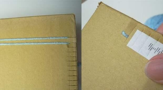 Красивый и теплый ковер с помощью вилки и картона