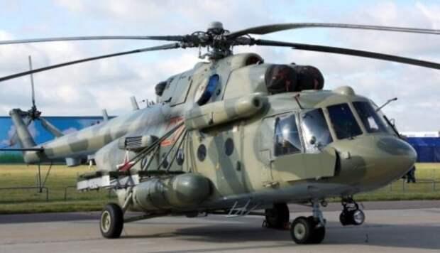 Вертолет Ми-8 разбился в Красноярском крае (ВИДЕО)