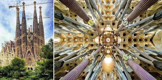 Храм Святого Семейства (1882-наст. Время), Барселона, Испания.