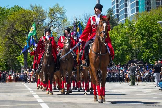 24 апреля в Краснодаре пройдет парад Кубанского казачьего войска