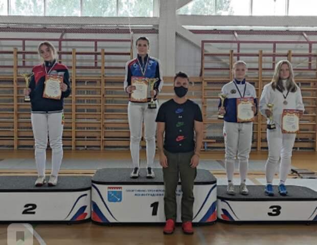 Фехтовальщица из Бегового стала чемпионкой Всероссийских соревнований