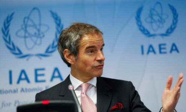 Глава МАГАТЭ Рафаэль Гросси в штаб-квартире агентства в Вене, Австрия, 15 июня 2020 года. REUTERS/Leonhard Foeger