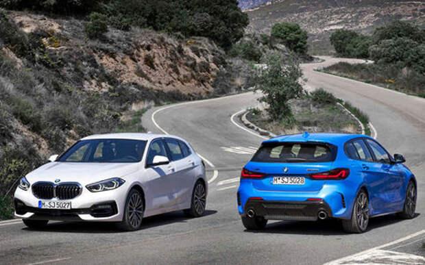 Смотрите, как она едет! Семь видео про новую 1-ю серию BMW