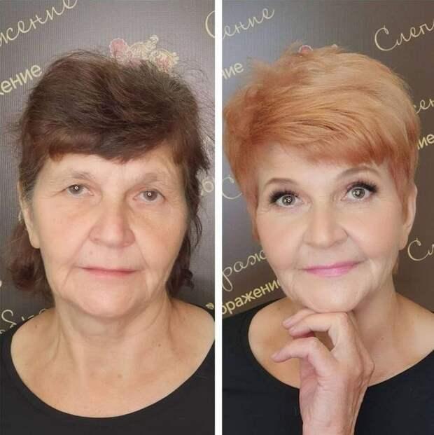 20 примеров омолаживающего макияжа, стирающего с женских лиц пару десятков лет