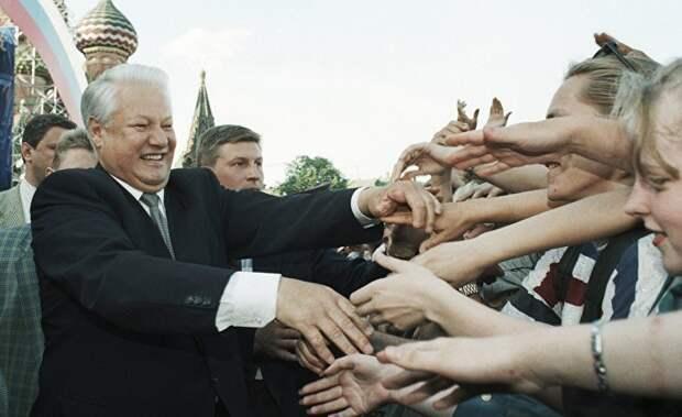 Борис Ельцин: от героя-освободителя до спившегося клоуна (ABC)