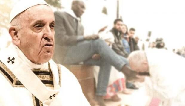 Папа Римский Франциск призвал Европу совершить суицид во имя Аллаха