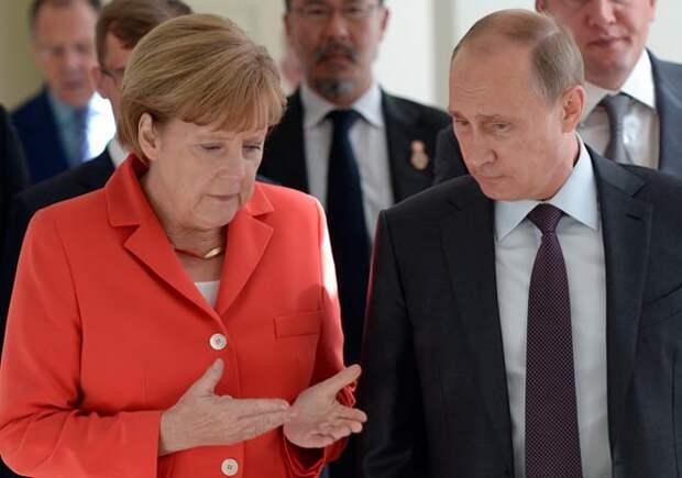Путин предложил Меркель урегулировать украинский кризис почеченскому варианту— FT