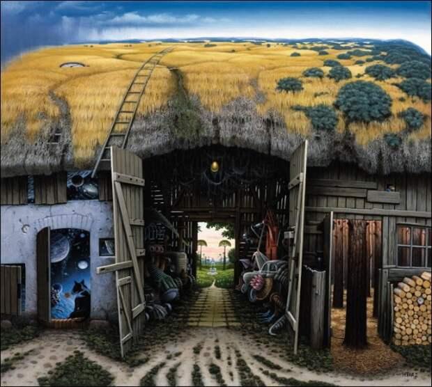 Фантазийные миры Яцека Йерки