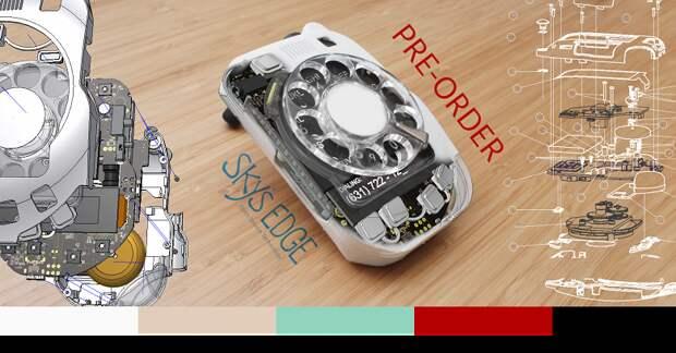«Бабушкофон» с кнопками — слишком современно? Тогда можно заказать мобильный телефон 4G с дисковым набором