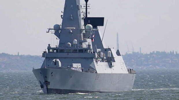 Роль Украины в инциденте с британским эсминцем у мыса Фиолент