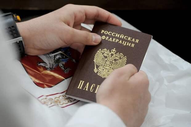 Гражданами России стали более полумиллиона жителей Донбасса