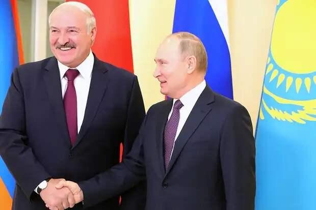 Путина озадачили протесты в Белоруссии