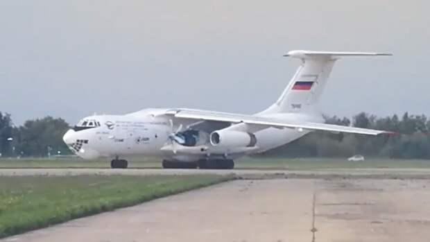 Первый полет лаборатории Ил-76ЛЛ с новым двигателем показали на видео