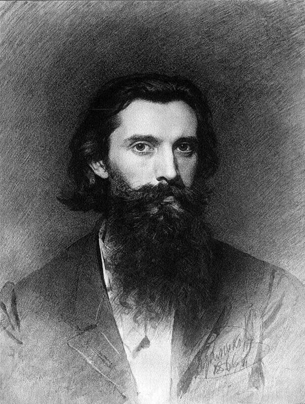 Русский жанровый и батальный живописец Дмитриев-Оренбургский Николай Дмитриевич, 1837-1898