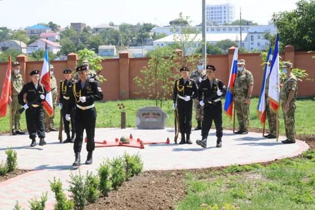 В столице Крыма торжественно открыли сквер Победы