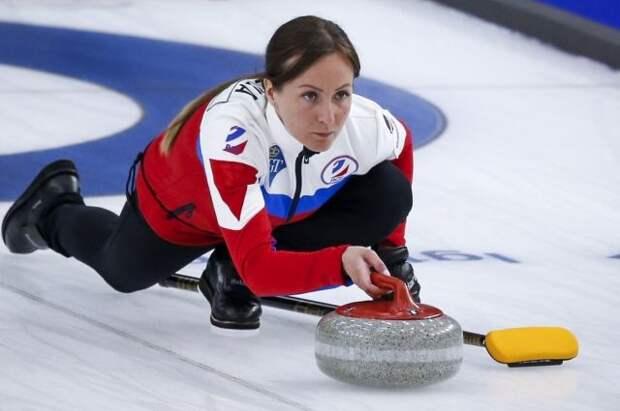 Женская сборная России по керлингу одержала четвертую победу на ЧМ