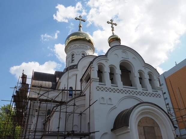 Храм на Авиационной планируют открыть в следующем году