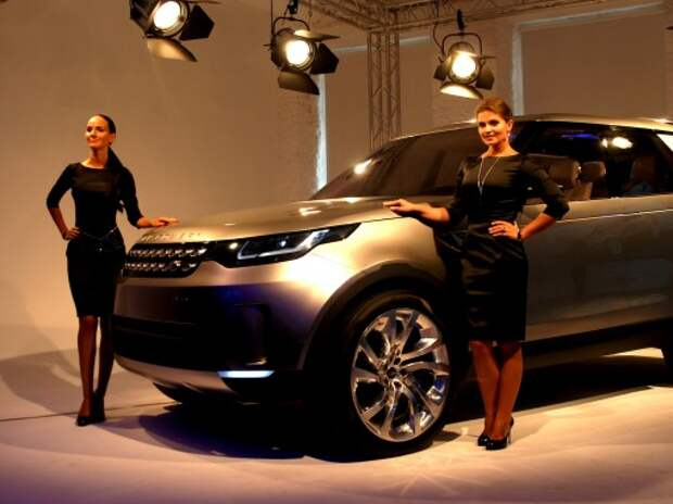 Land Rover Discovery Vision: фантастика или быль?