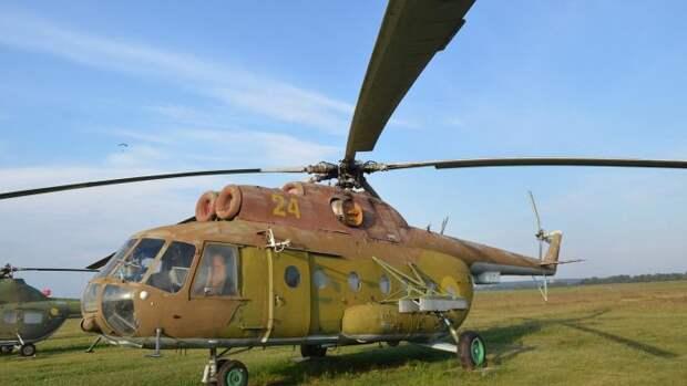 Разбившийся в Ливии вертолёт оказался Ми-8 времён Каддафи