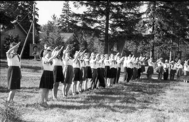 Советские детские оздоровительные лагеря строили в сосновых борах / Фото: palata-npr.ru