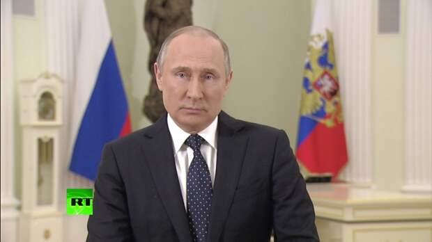 Картинки по запросу Владимир Путин обратился к россиянам перед выборами