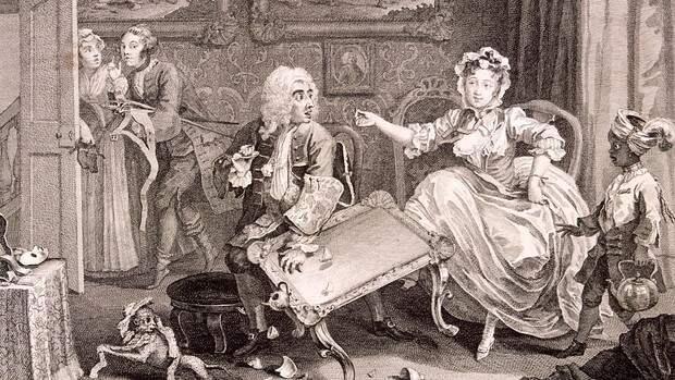Изысканная реклама проституток XVIII века