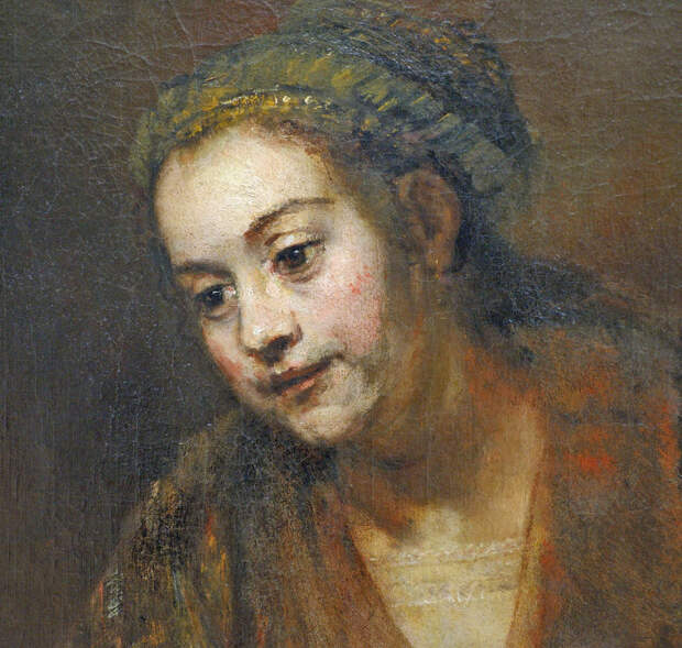 Портрет Хендрикье, Рембрандт. / Фото: flickr.com.