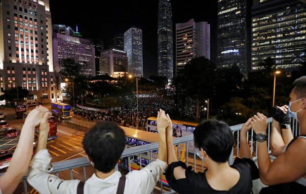Власти Гонконга заявили об отзыве законопроекта, вызвавшего массовые протесты