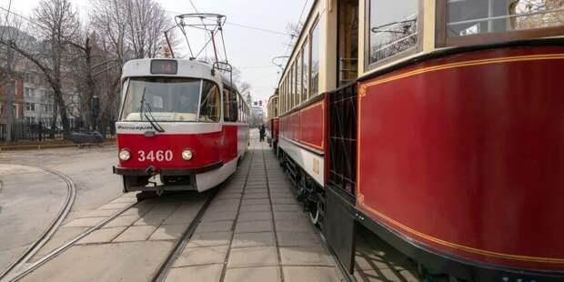 Современные низкопольные трамваи будут ходить на маршруте №6  осенью