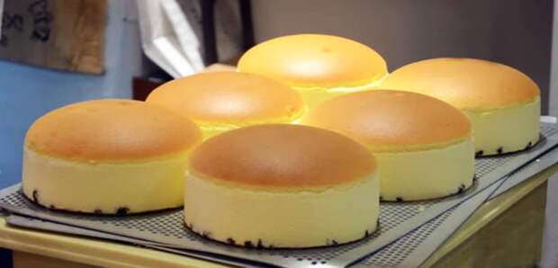 Японский торт из трех ингредиентов и без муки