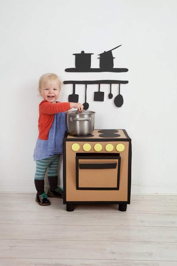 diy-cardboard-kitchenette