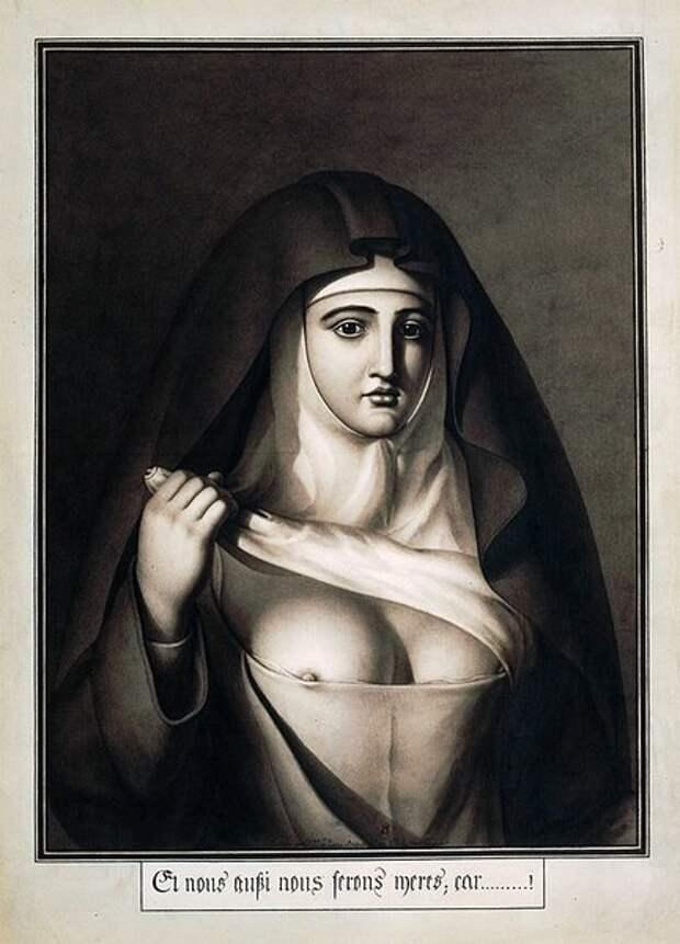 """Жан-Жак Лекю. """"И мы тоже будем матерями, потому что..."""". 1794"""