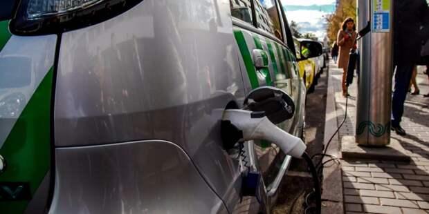В районе Сокол появятся две зарядные станции для электромобилей