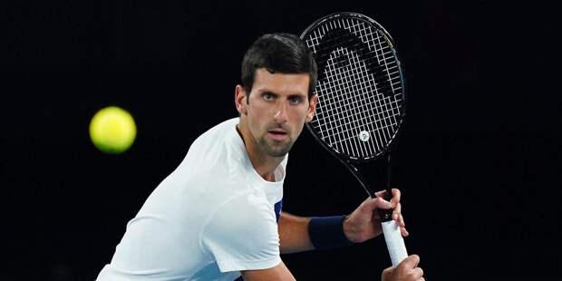 Джокович выиграл теннисный турнир