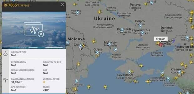 Показанное «вторжение» российской авиации на Украину могло быть подлогом спецслужб противника