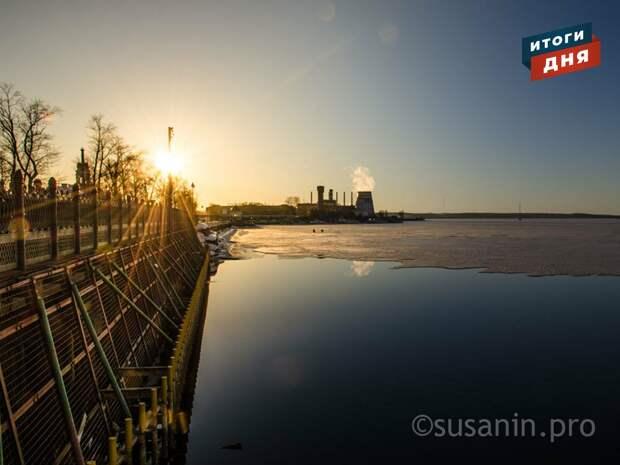 Итоги дня: потепление в Удмуртии и приближение пика паводка