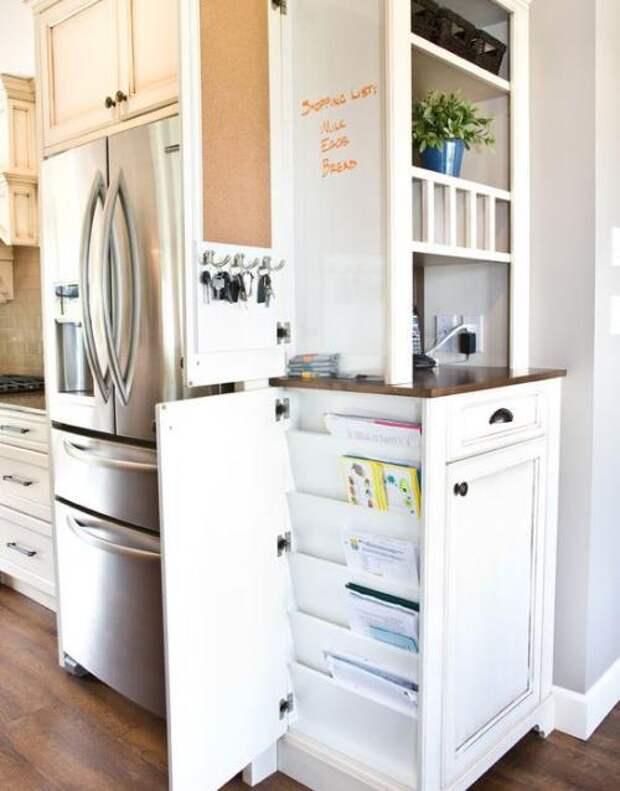 Удобное хранение продуктов на кухне: фото идеи 03