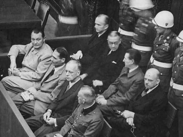 Что нацистские «вожди» рассказали о Гитлере на Нюрнбергском трибунале