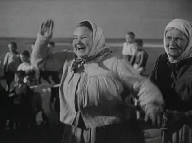 Сказочная бабушка советского кино Татьяна Барышева.
