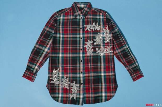 Переделка клетчатых рубашек