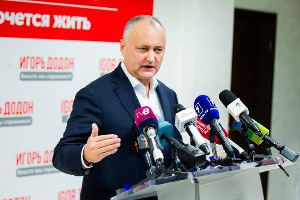 «В ЦИК, в суд, в Апелляционную палату и в Конституционный суд»: Додон оспорит итоги президентских выборов в Молдавии