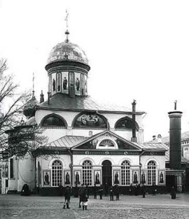 Вид Троицкого Собора до реставрации. 1925 г.