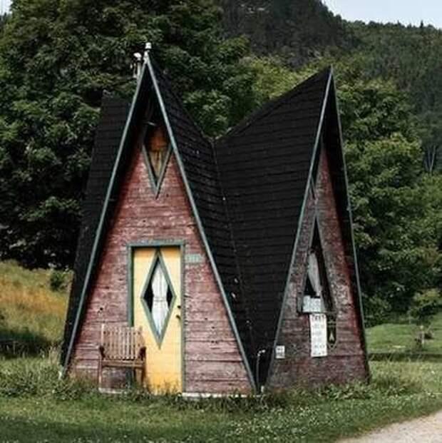 Невероятные крошечные и реально существующие домики