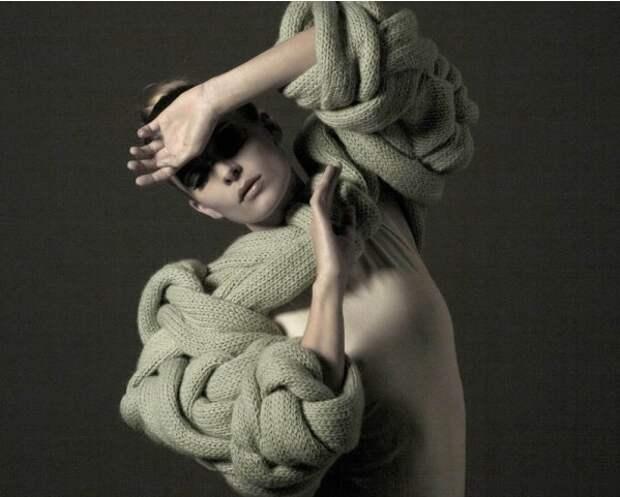 Неординарное вязание: 15 хитросплетённых моделей от мастериц