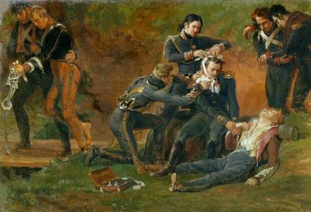 Медицинская служба Великой армии Наполеона: хирурги и санитары