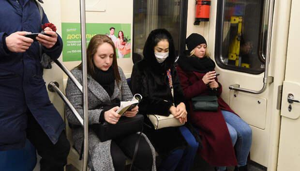 Информацию о Covid‑19 запустили на дисплеях в метро, электричках и вдоль дорог в Москве