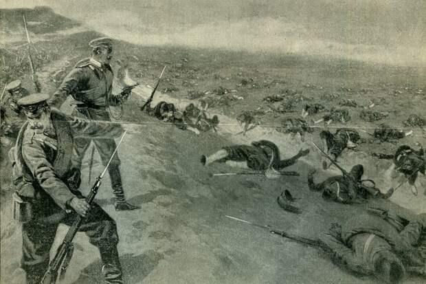 116 лет назад русские войска впервые в истории применили миномет