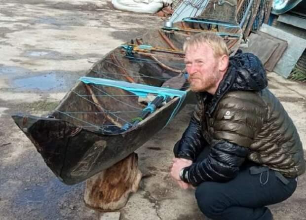 Из любви к России датский профессор уехал от семьи и два месяца жил в лодке