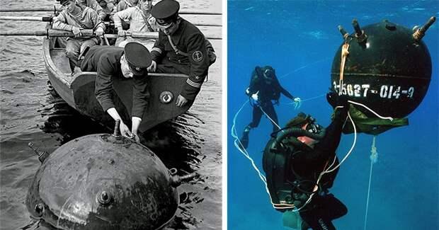 Зачем морским минам «рога» и опасно ли к ним прикасаться